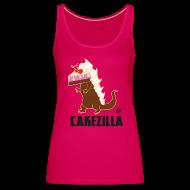 Tops ~ Frauen Premium Tank Top ~ Cakezilla Tanktop