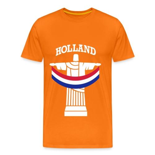 Holland Rio Beeld - Oranje Shirt (heren) - Mannen Premium T-shirt