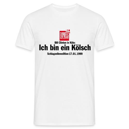 T-Shirt Ich bin ein Kölsch - Männer T-Shirt