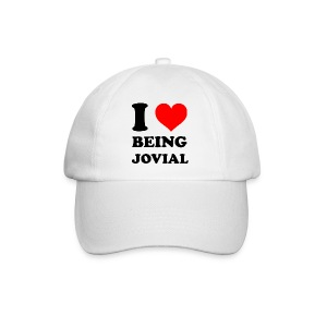 I Love Being Jovial - Baseballcap