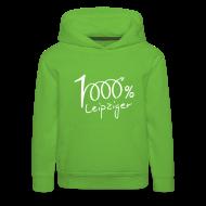 Pullover & Hoodies ~ Kinder Premium Kapuzenpullover ~ Kapuzenpullover 1000% Leipziger