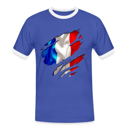 Men France 2014 - T-shirt contrasté Homme