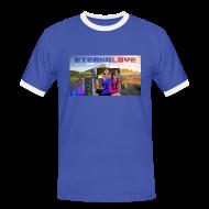 Magliette ~ Maglietta Contrast da uomo ~ T-Shirt Contrast Logo-CL ♂