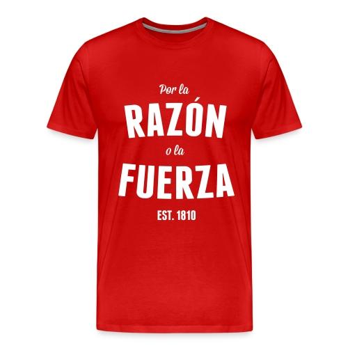 Por la Razón o la Fuerza - Premium-T-shirt herr