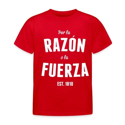 Por la Razón o la Fuerza - T-shirt barn
