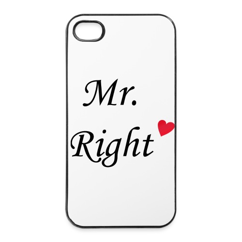 Mr Right iPhone 4/4S - iPhone 4/4s Hard Case