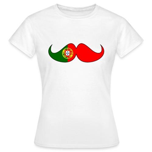 EM Shirt Damen Portugal - Frauen T-Shirt
