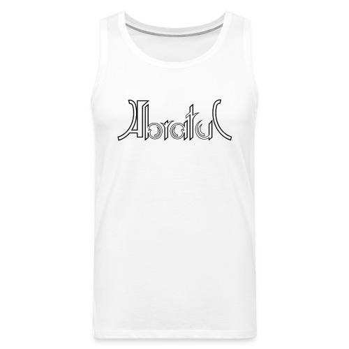 Tank-Shirt weiß mit klassischem Logo - Männer Premium Tank Top