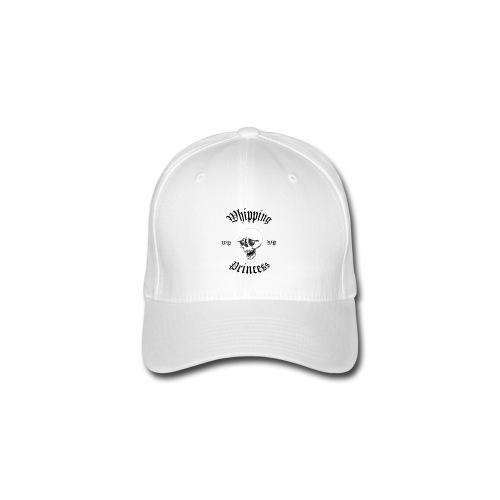 Vit keps med logga - Flexfit Baseball Cap