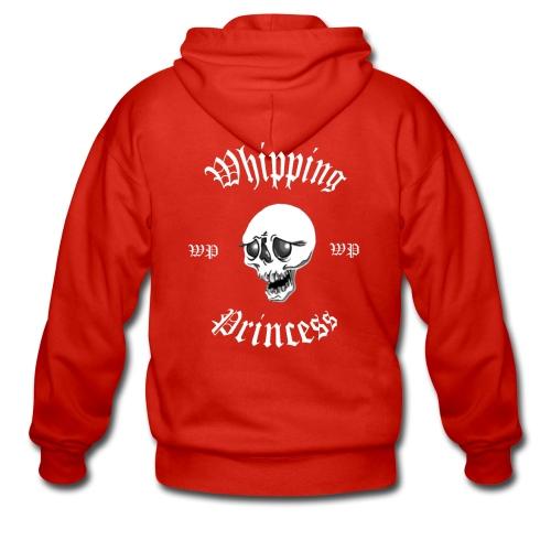 Huvjacka med logga röd - Men's Premium Hooded Jacket