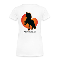 T-shirts ~ Dame premium T-shirt ~ Frieser Nord åkande T-shirt Dame