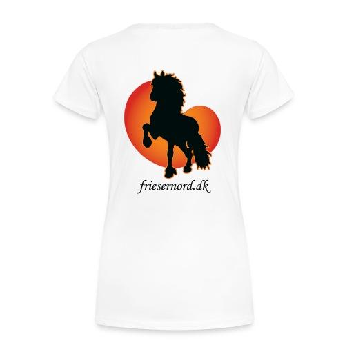 Frieser Nord åkande T-shirt Dame - Dame premium T-shirt