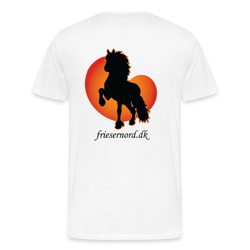 Frieser Nord åkande T-shirt Herre - Herre premium T-shirt
