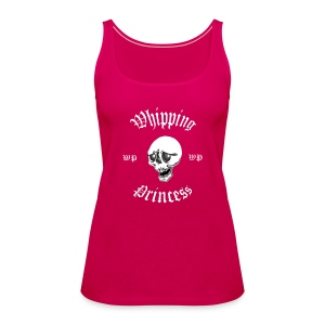 Linne med logga fram rosa - Women's Premium Tank Top