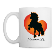 Krus & tilbehør ~ Kop/krus ~ Frieser Nord åkande T-shirt Herre