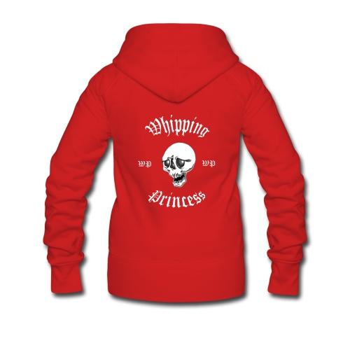 Huvjacka dam röd - Women's Premium Hooded Jacket