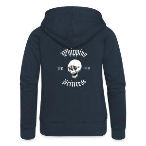 Huvjacka dam blå - Women's Premium Hooded Jacket