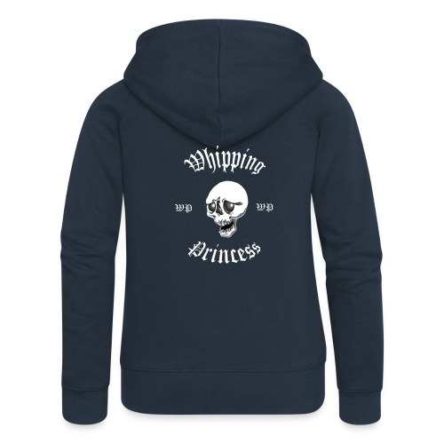 Huvjacka dam blå - Women's Premium Hooded Jacket