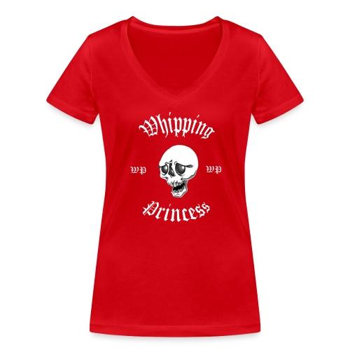 V-ringad t-shirt dam röd - Women's Organic V-Neck T-Shirt by Stanley & Stella