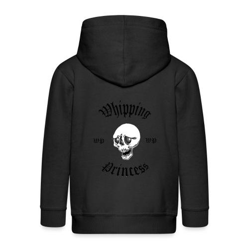 Huvjacka barn grå - Kids' Premium Zip Hoodie