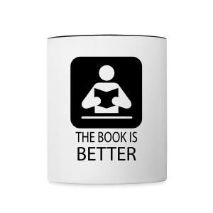 the book is better - Tazze bicolor