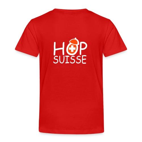 T-shirt Premium Enfant - Hop Suisse