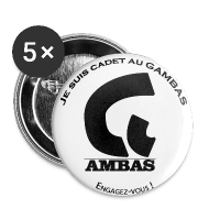 Badges ~ Badge moyen 32 mm ~ Badge Cadet au GAMBAS