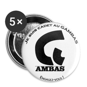 Badge Cadet au GAMBAS - Badge moyen 32 mm