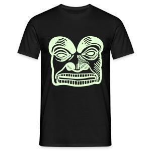 Marterpfahl Meme 01, nachtleuchtend - Männer T-Shirt