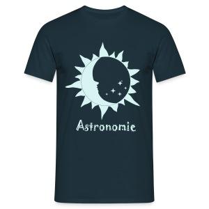 Astro-Logo, reflektierend - Männer T-Shirt