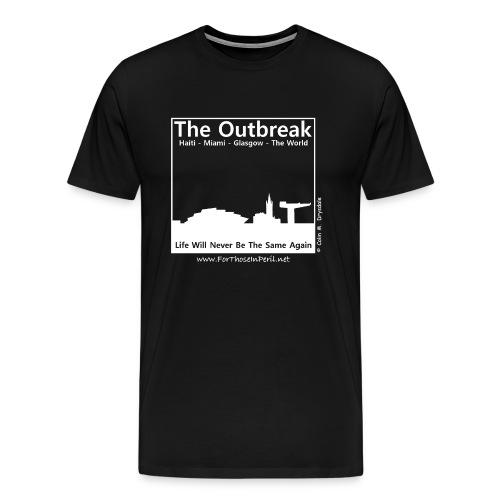 Men's T Shirt - The Outbreak - Men's Premium T-Shirt