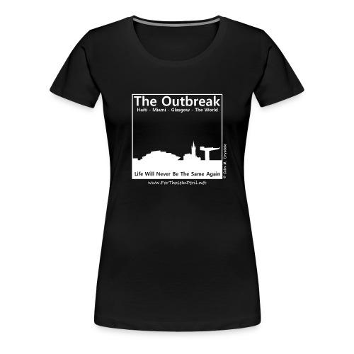 Women's T Shirt - The Outbreak - Women's Premium T-Shirt