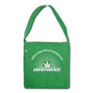 Taschen & Rucksäcke ~ Schultertasche aus Recycling-Material ~ Hanfparade 2014 Schultertasche