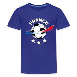 Football France - Teenage Premium T-Shirt