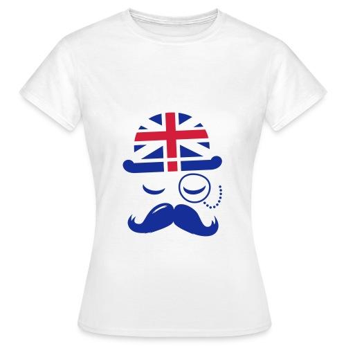 T-sheert  gentleman (femme) - T-shirt Femme