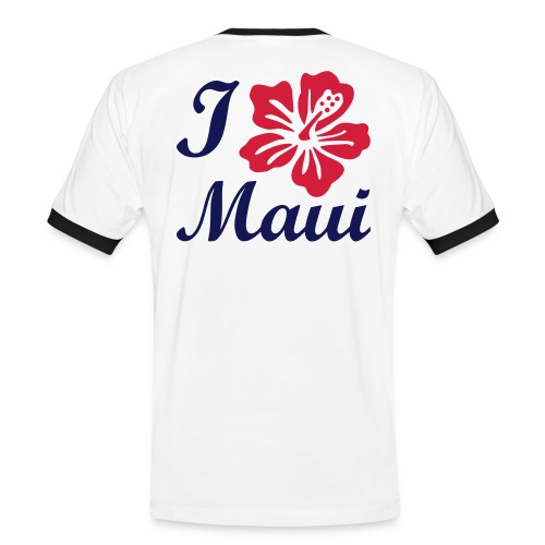 I Love Maui - Men's Ringer Shirt
