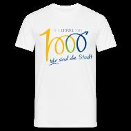T-Shirts ~ Männer T-Shirt ~ Männer T-Shirt 1000 Jahre Leipzig bunt
