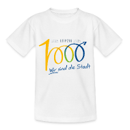 T-Shirts ~ Kinder T-Shirt ~ Kinder T-Shirt 1000 Jahre Leipzig bunt