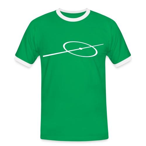Mittelfeld  - Männer Kontrast-T-Shirt