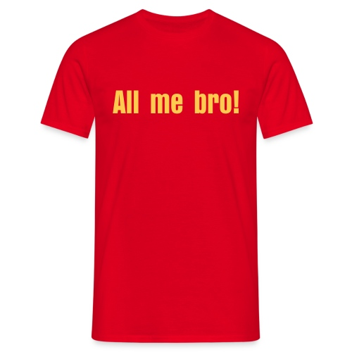 All me - T-shirt herr