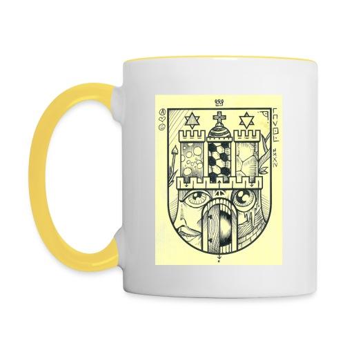 hh04 mug - Tasse zweifarbig