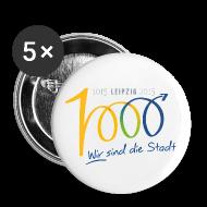 Buttons & Anstecker ~ Buttons klein 25 mm ~ Button - 1000 Jahre Leipzig