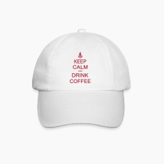 Keep calm and drink coffee Caps & Hats
