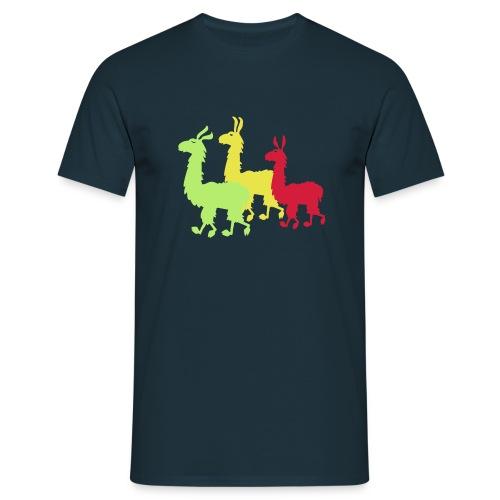 Lamashirt - Männer T-Shirt
