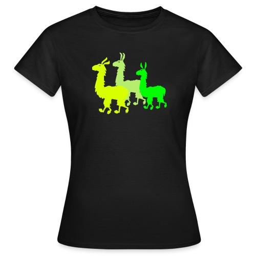 Lamashirt - Frauen T-Shirt