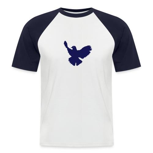 pope4peace - Männer Baseball-T-Shirt