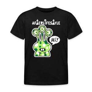 Alien Green Gug hi - Kinderen T-shirt