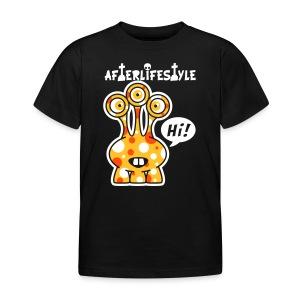 Alien Orange Ouo hi - Kinderen T-shirt