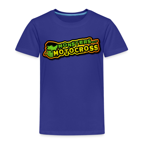 Patch # Monsters of Motocross - Kinder Premium T-Shirt