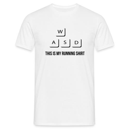 This Is My Running Shirt - Men's T-Shirt